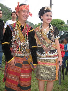 Dusun Lotud couple of Tuaran